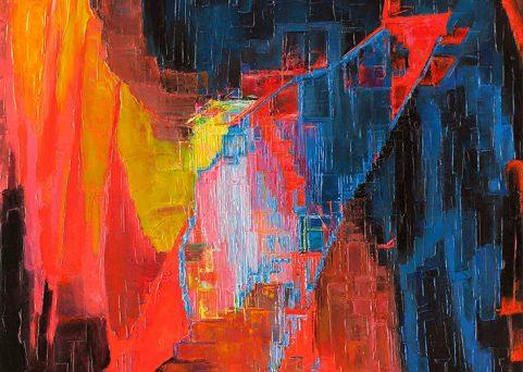GALACTIC-oil-on-canvas-61cm-x91cm