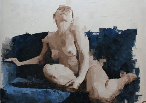 WISH-2 oil on canvas 100cm. x80cm.